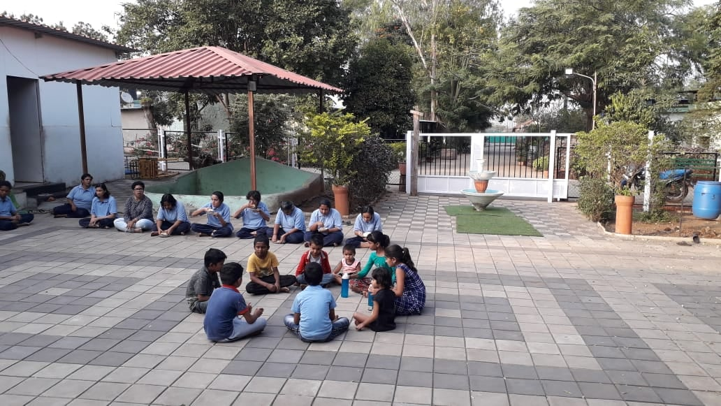 Special friends at Navkshitij are engaged in various activities